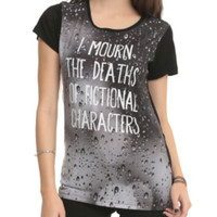 I Mourn Characters Girls T-Shirt 3XL
