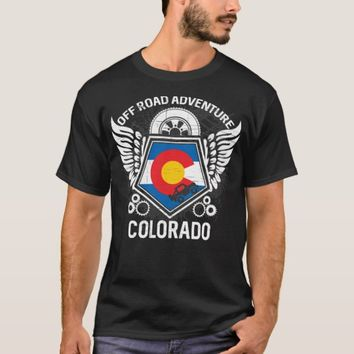 Colorado Off Road Adventure 4x4 Trails Mudding T-Shirt