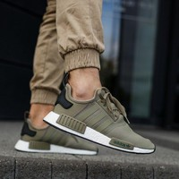 ADIDAS NMD R1 OLIVE TRACE CARGO BA7249 BRAND NEW IN BOX ALL SIZES AVAILABLE