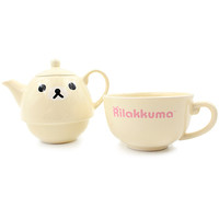 Buy San-X Korilakkuma Face Tea for One Teapot & Cup Set at ARTBOX