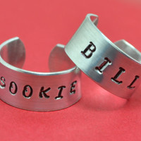 Bill and Sookie Ring Set - True Blood