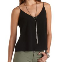 Chiffon Swing Tank Top by Charlotte Russe