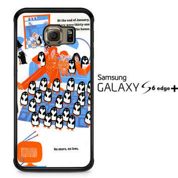 365 penguins book Y1987 Samsung Galaxy S6 Edge Plus Case