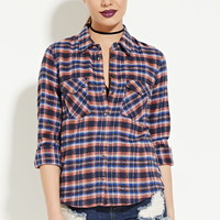 Classic Plaid Flannel | Forever 21 - 2000178127