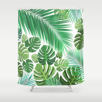 Jungle Fever Shower Curtain by exobiology