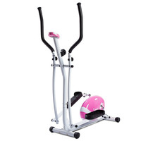 Sunny Health & Fitness Pink Magnetic Elliptical Trainer