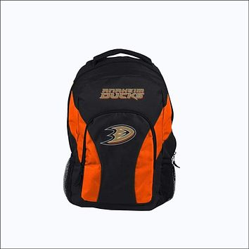 """Ducks OFFICIAL National Hockey League, """"""""Draft Day"""""""" 18""""""""H x 10"""""""" (12"""""""" Back) Backpack  by The Northwest Company"""