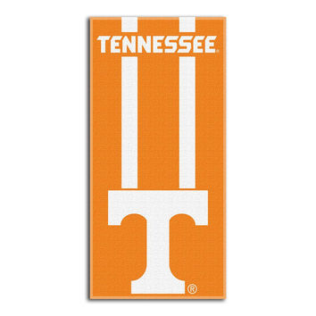Tennessee Volunteers NCAA Zone Read Cotton Beach Towel (30in x 60in)