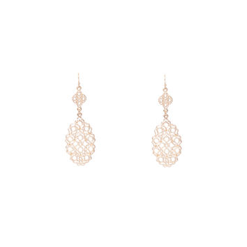 Gold Ornament Earring