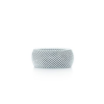 Tiffany & Co. -  Tiffany Somerset™ domed ring in sterling silver.