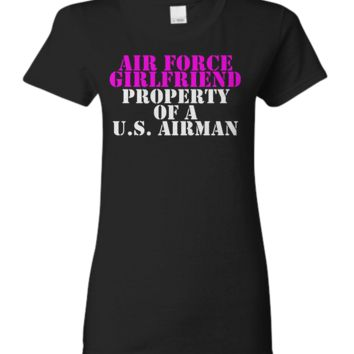 Air Force Girlfriend - Property of a U.S. Airman air-force-girlfriend