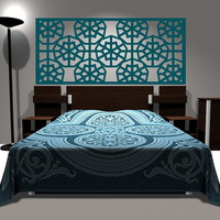 Wall Decal Headboard Geometric Dorm Decor Shabby Chic Star Snowflake Abstract