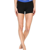 "Nike Pro Cool 3"" Women's Compression Shorts (S, 016 Black/Deep Royal Blue)"