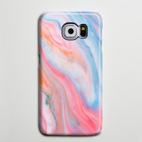 Pastel Pink and Blue Samsung Galaxy S6 Edge Case,Galaxy S6 case,Samsung S5 Case S4 Case S3 Case,Samsung Galaxy Note 3 Case Note 2 Case