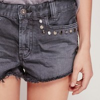 Free People Short & Sweet Stud Cutoff