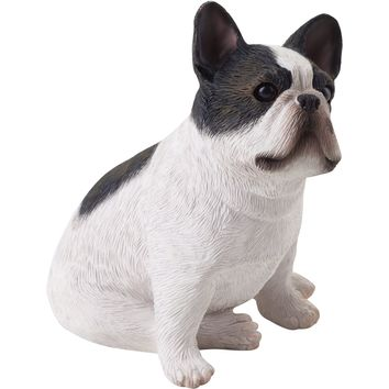 "Sandicast ""Small Size"" Sitting Brindle French Bulldog Sculpture"