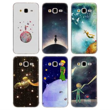 Soft TPU Phone case prince rose planet Silicone tpu Phone Case for Samsung