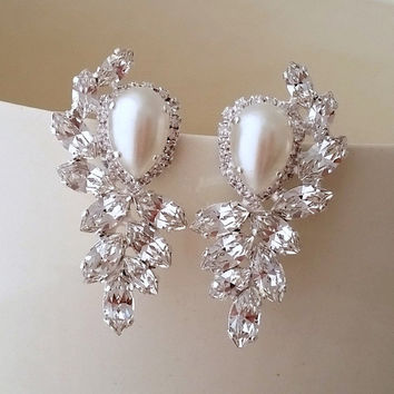 earring beautiful large sale extra of early at stud for pearl earrings