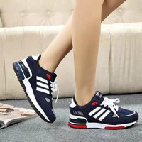 """Adidas"" Fashion All-match Unisex Multicolor Sneakers Couple Running Shoes"