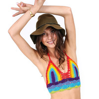 Rainbow Warrior Crop Top