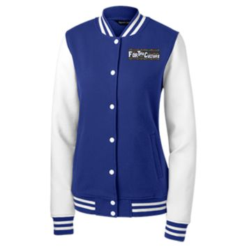 For The Culture Women's Letterman Jacket