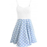 MINKPINK | Sugar Magnolia Polka Dot Skater Dress | Spoiled Brat