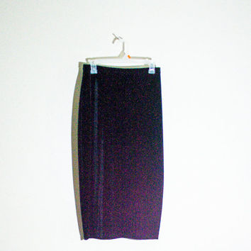 90s black velvet pencil skirt, 1990s spring fashion boho bohemian goth hipster soft grunge urban outfitters 2014 free people