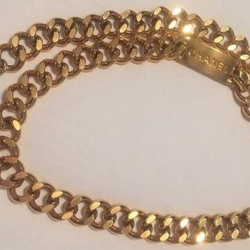 LMFONG6 Authentic COCO CHANEL Chain Belt