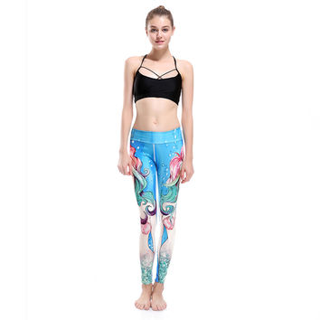 "Mermaid Yoga Pants ""FREE SHIPPING"""