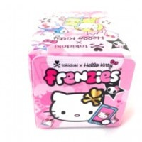 Our ultra cute tokidoki x Hello Kitty Frenzies combine some of your favorite tokidoki characters with global icon, Hello Kitty! Each of the 20 super kawaii characters in the series comes with a lobster clip, lanyard and phonezie attachment. Collect them al