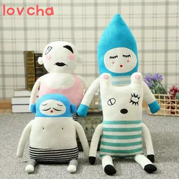 lovcha 70cm decoration doll baby girl stuffe plush toy doll for Christmas gifts for children / car toys decoration free shipping