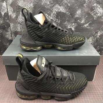 Nike LeBron XVI LMTD 16 Black Basketball Shoes - Best Online Sale