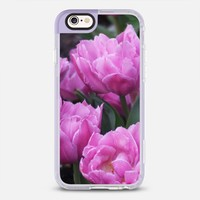 Purple tulips iPhone 6s case by littlesilversparks | Casetify