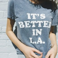 MARGIE IT'S BETTER IN LA TOP