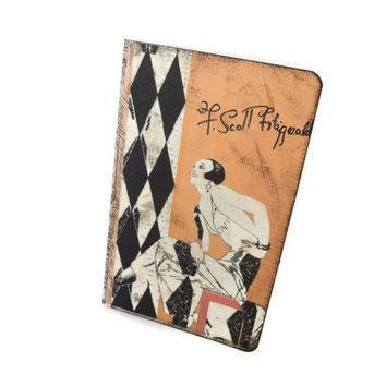 The Great Gatsby Journal, F Scott Fitzgerald, Cahier Moleskine, Jazz Journal, 1920s, Art Deco Journal Notebook