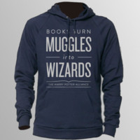 DFTBA Records :: Books Turn Muggles Pullover Hoodie