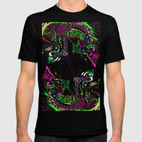 Swan Floral T-shirt by ES Creative Designs