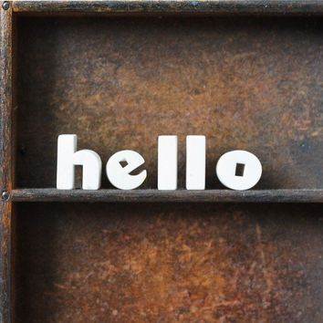 hello by AMradio on Etsy
