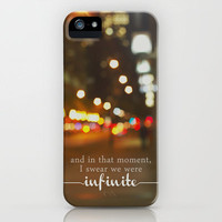 perks of being a wallflower - we were infinite iPhone Case by Lissalaine | Society6