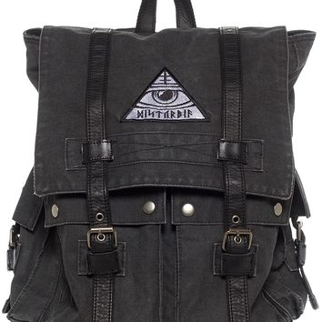 DISTURBIA ALL SEEING BACKPACK