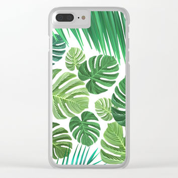 Jungle Fever Clear iPhone Case by exobiology