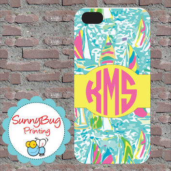 Designer Inspired Custom, Monogram phone 4, 4s, 5 and Samsung III Cases!