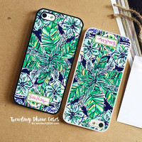 Elephant Twist Leave -Lilly Pulitzer iPhone Case Cover for iPhone 6 6 Plus 5s 5 5c 4s 4 Case