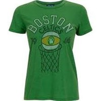 Junk Food- Boston Celtics Crew Tee