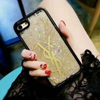 CHANEL/YSL/LV Fashion iPhone Phone Cover Case For iphone 6  6plus 7 7plus H-AGG-CZDL