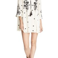 Free People 'Sweet Tennessee' Embroidered Minidress | Nordstrom