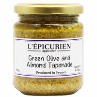 Epicurien Green Olive and Almond Tapenade 6.7 oz