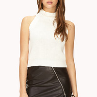 FOREVER 21 Dynamite Asymmetrical Mini Skirt Black