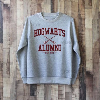 Hogwarts Alumni Shirt Harry Potter Shirt Sweatshirt Sweater – Size XS S M L XL