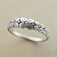 Bower of Flowers Ring | Robert Redford's Sundance Catalog